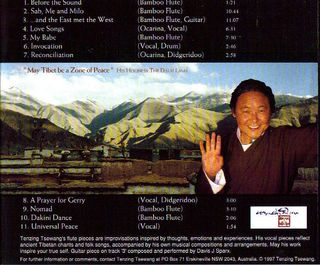 Mirrors of Tibet - back cover